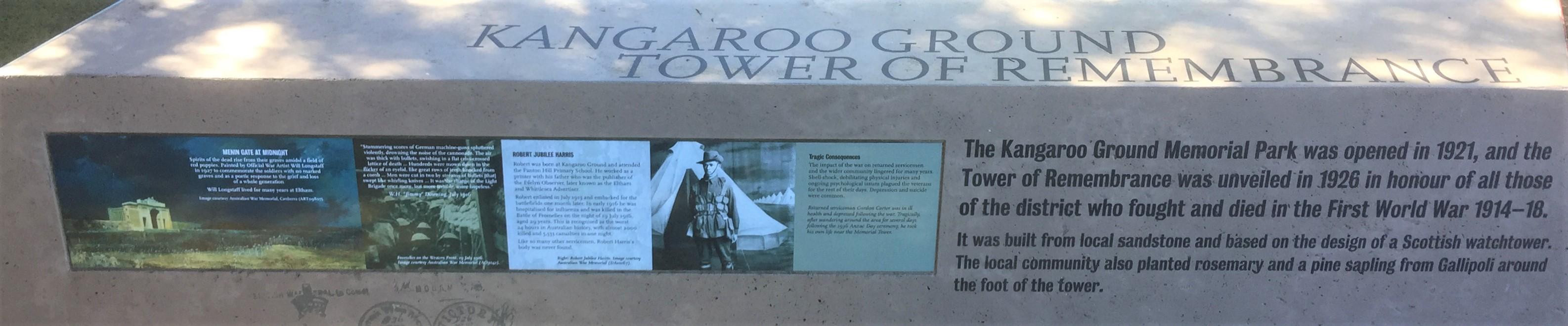 Kangaroo Ground Tower & Park